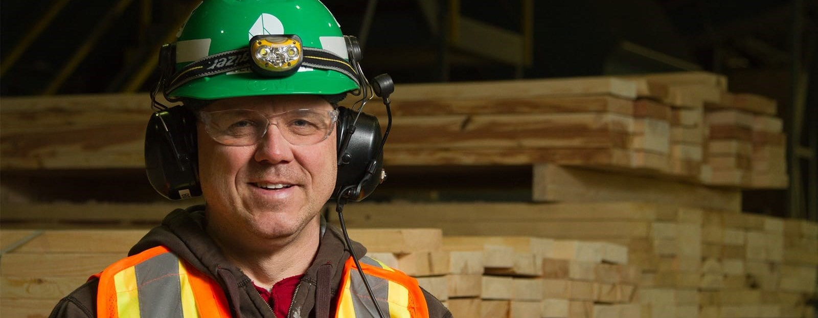man wearing a hard hat