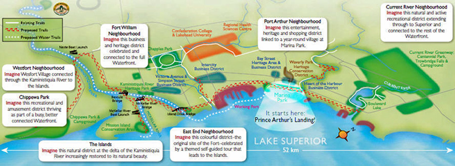 Imagine Our Waterfront Map page 2