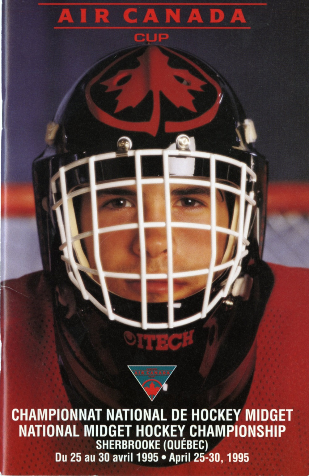 Air Canada Cup Booklet - Front