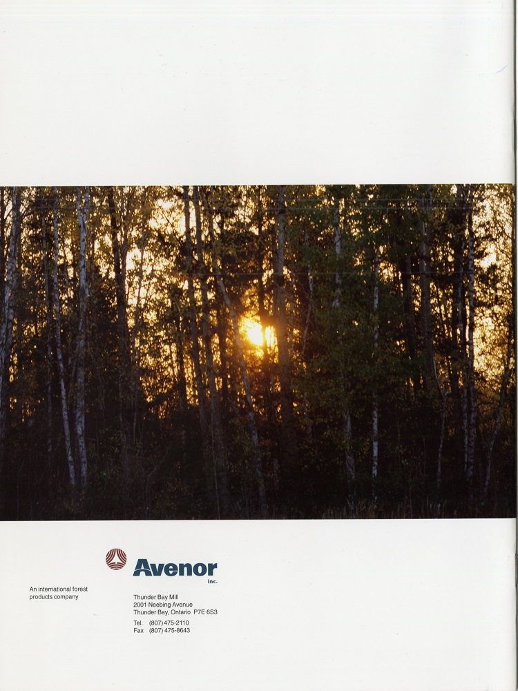 Avenor Booklet - Back