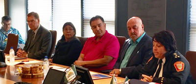 Friendship Agreement Signing with North Caribou Lake First Nation