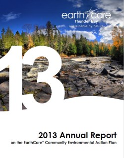 front cover picture of earthcare 2013 annual report