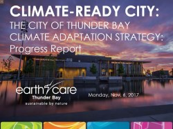 front cover picture of the climate adaptation progress report 2017