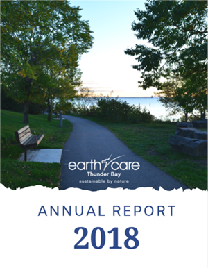 EarthCare 2018 Annual Report cover