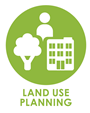 icon representing land use