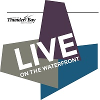 Live on the waterfront logo