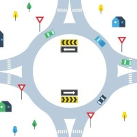 Graphic of a Roundabout