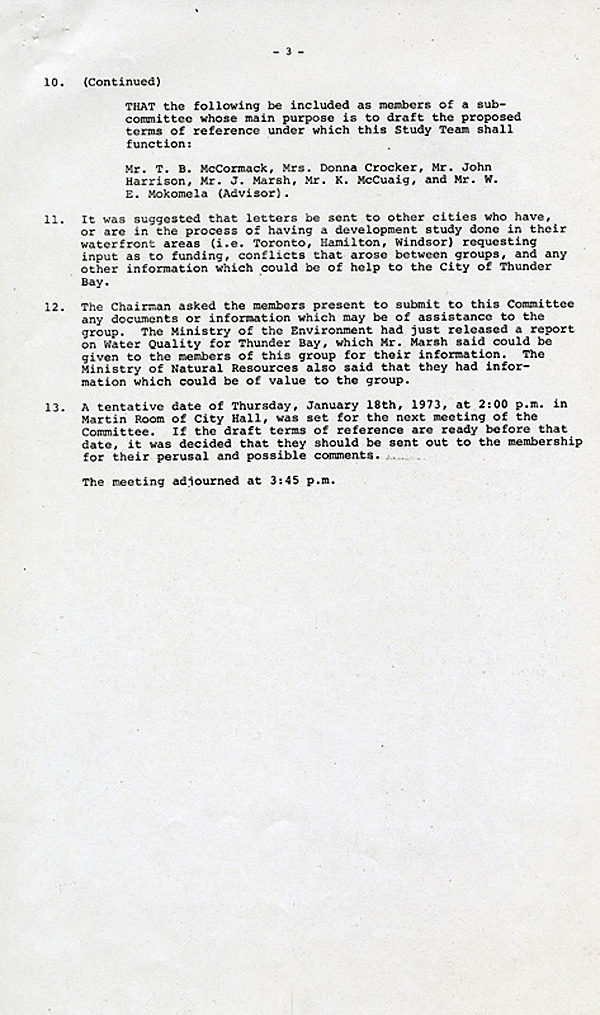 A typed document on white paper with black ink