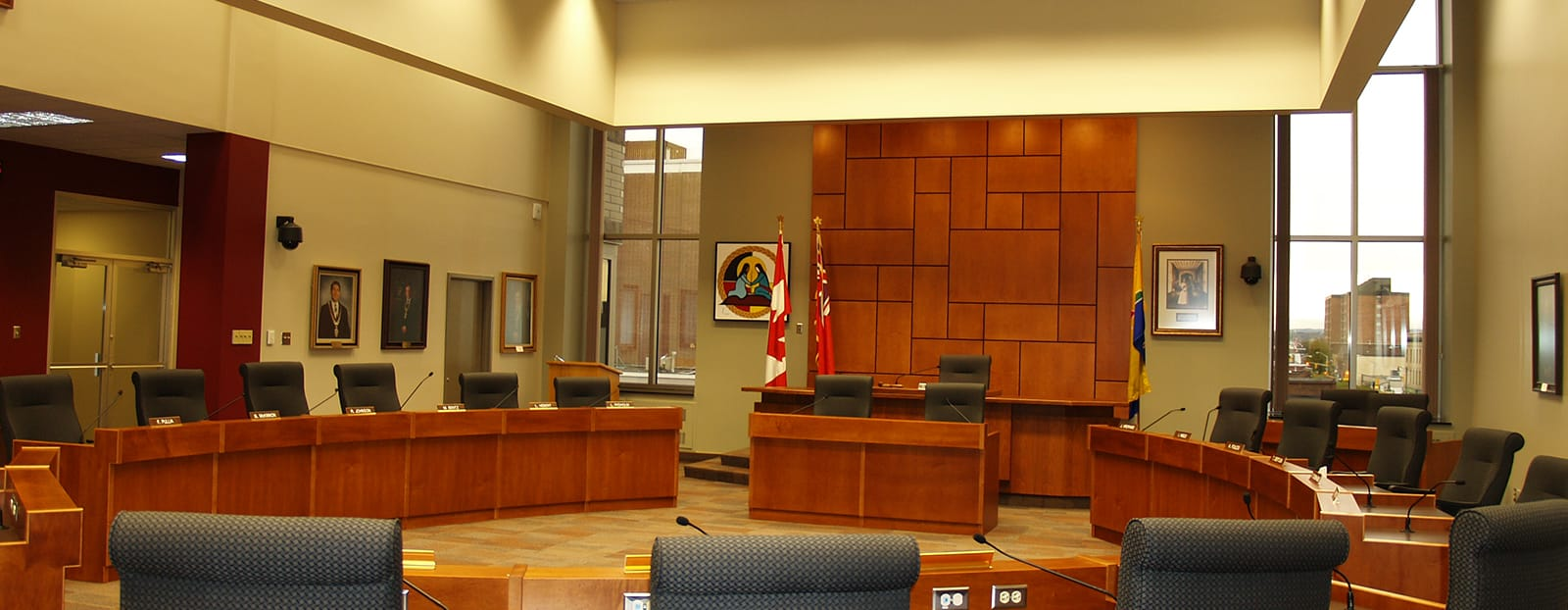 council chambers city of thunder bay