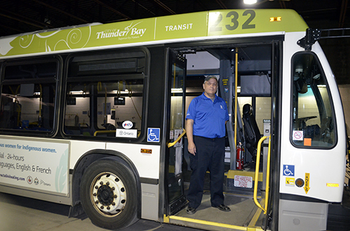 Andy Parr - Thunder Bay Transit Driver