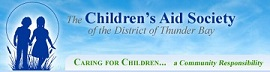 Children's Aid Society of the District of Thunder Bay Logo