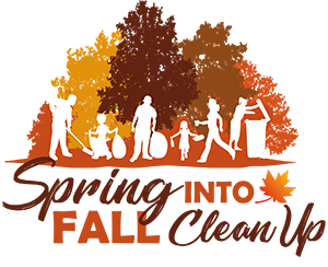 Spring Into Fall Clean Up logo