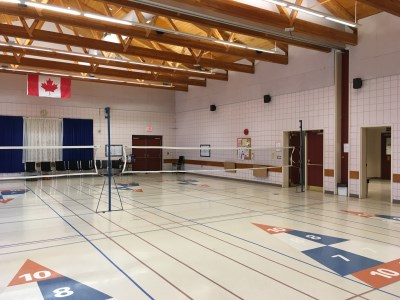 Photo of the inside of the 55 Plus Centre Auditorium