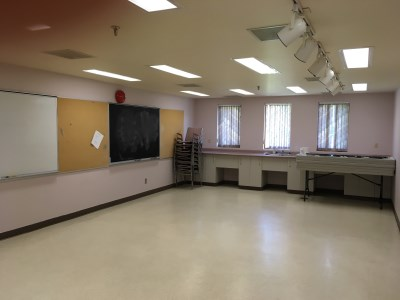 Photo of the inside of the 55 Plus Centre Craft Room 2