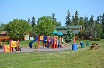 Chippewa Park playground equipment