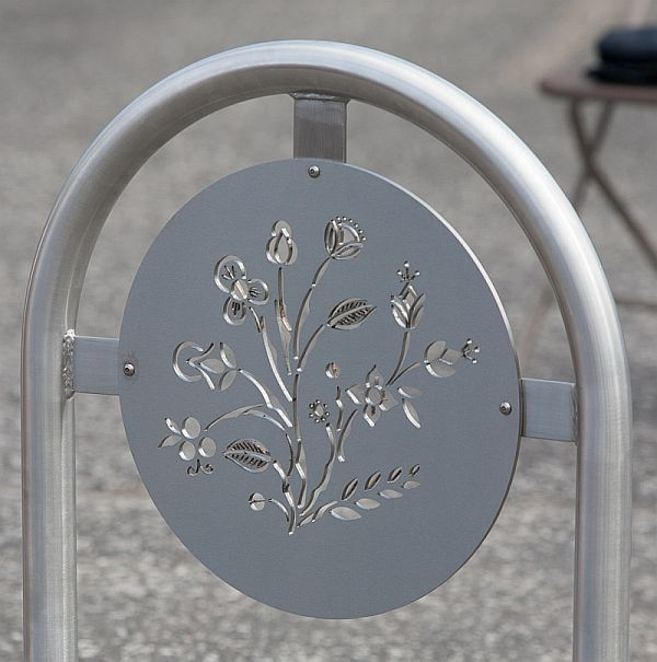 Plant Life bike rack design by Jean Marhall
