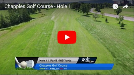 Chapples Hole 1 Video