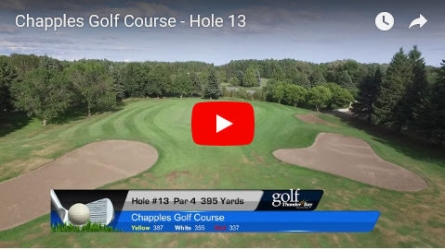 Chapples Hole 13 Video
