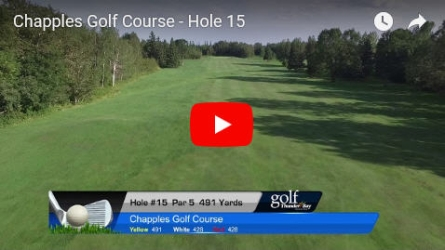 Chapples Hole 15 Video