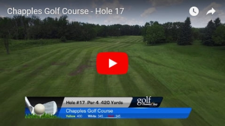 Chapples Hole 17 Video