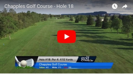 Chapples Hole 18 Video