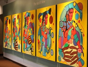 aboriginal art exhibit